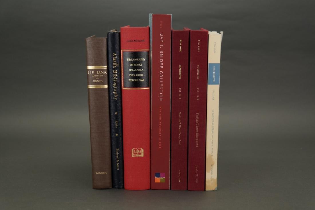 7 Vols: Howes, Alaska bibliographies, etc.