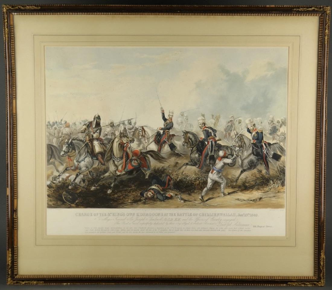 After Henry Martens. Charge of Dragoons. 1849