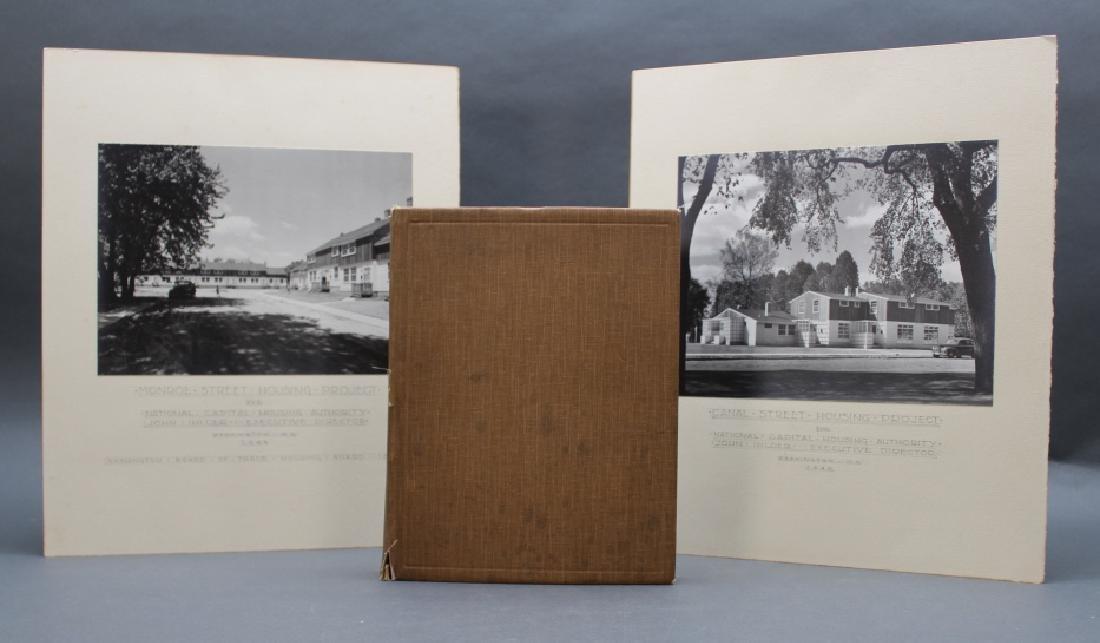 3 items: John Ihlder photo album + 2 photographs.