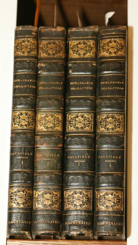 1003: Caulfield, PORTRAITS, MEMOIRS..., 1819-20.