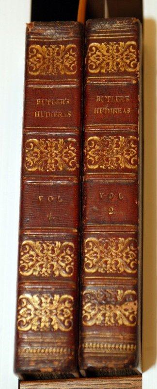 1004: Samuel Butler, HUDIBRAS, 2 vols. 1822. 12 plates.