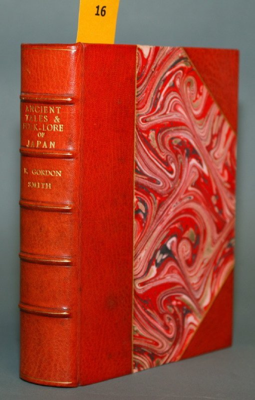 1016: ANCIENT TALES AND FOLKLORE OF JAPAN. Black, 1908.