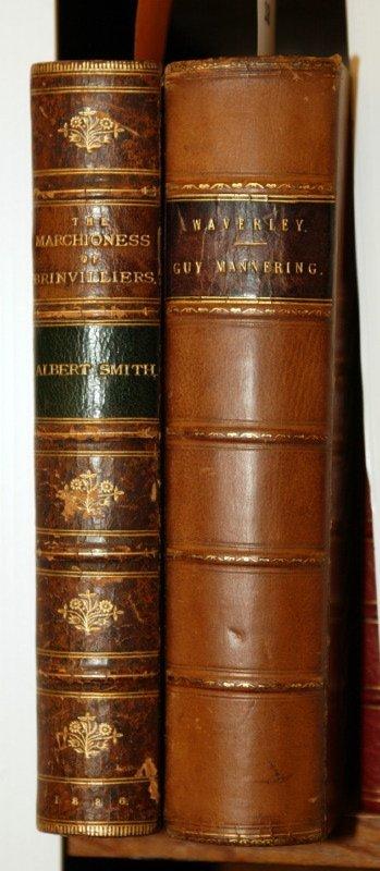 1018: WAVERLY NOVELS, Vol I, 1842 + MARCHIONESS, 1886.