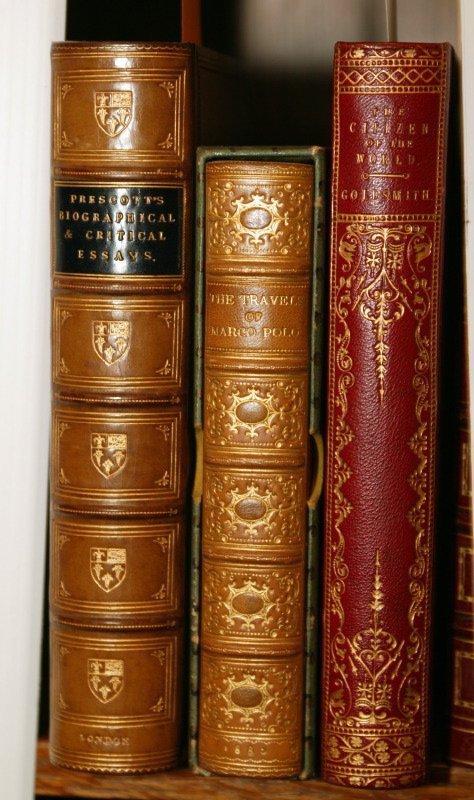 1020: 3 books: Marco Polo, Goldsmith, & Prescott.