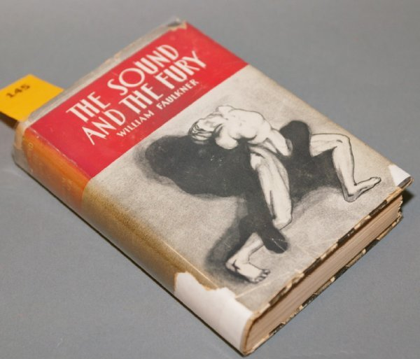 1145: William Faulkner, THE SOUND AND THE FURY (1931).