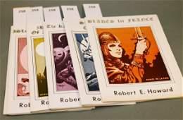 1258 Robert E Howard 6 first eds Hamilton 197578