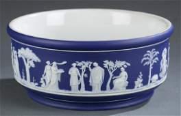 Large Wedgwood jasperware bowl. 1891-1897.