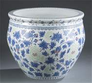 Large Japanese porcelain jar