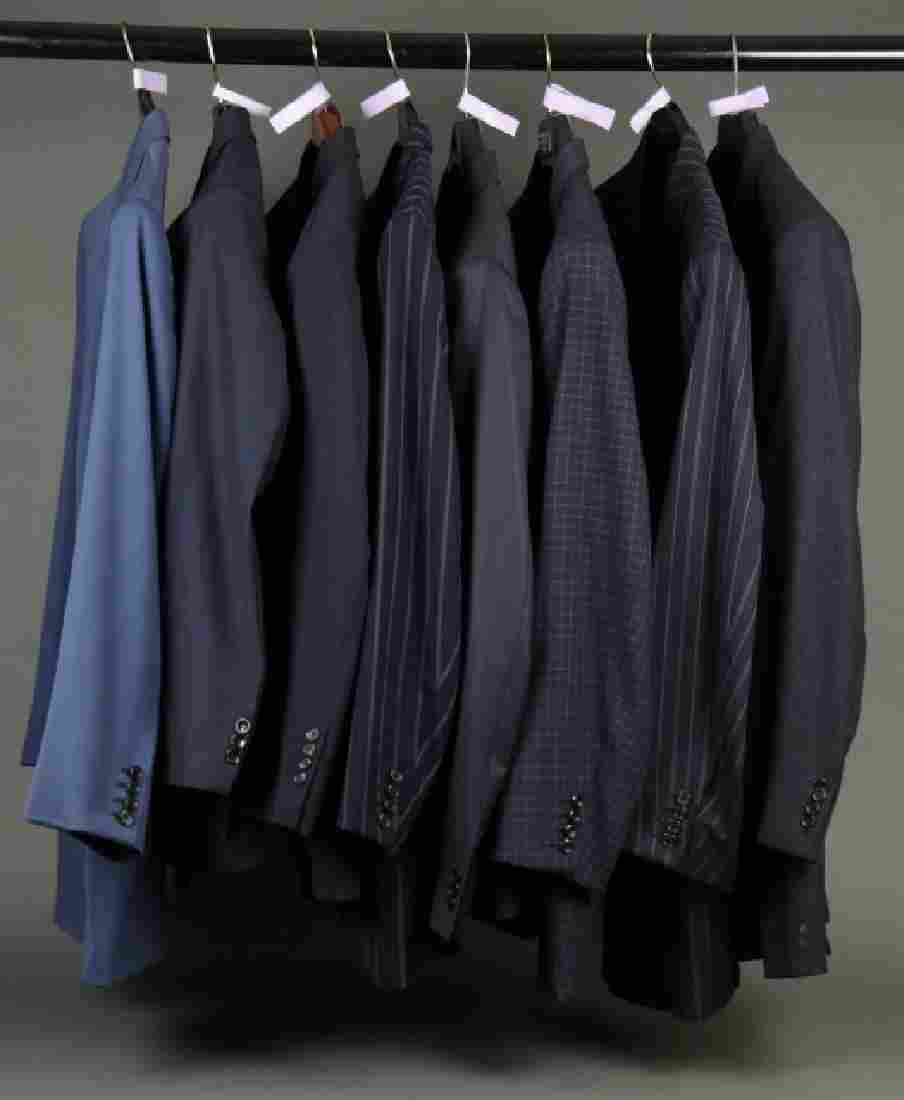 Group of 8 suits owned by Dr. John McLaughlin