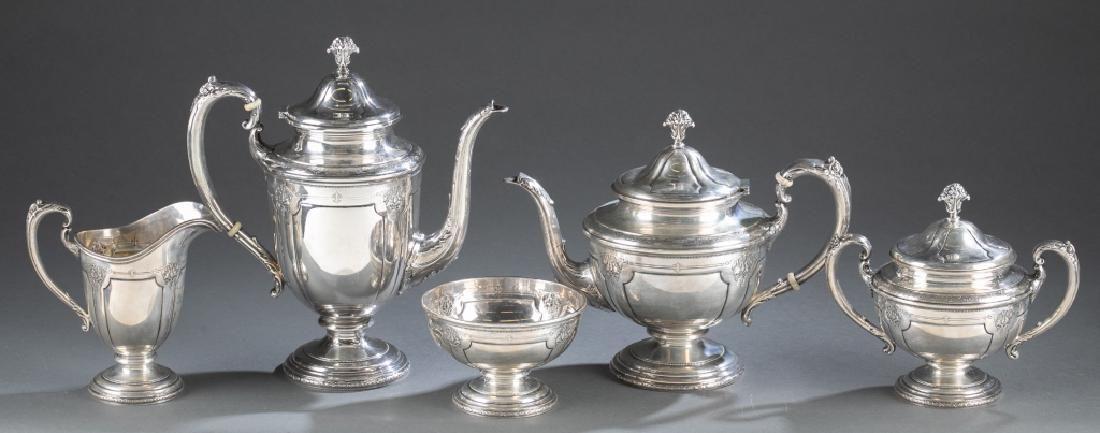 A Towle 'Louis XIV' Sterling Silver Tea/Coffee