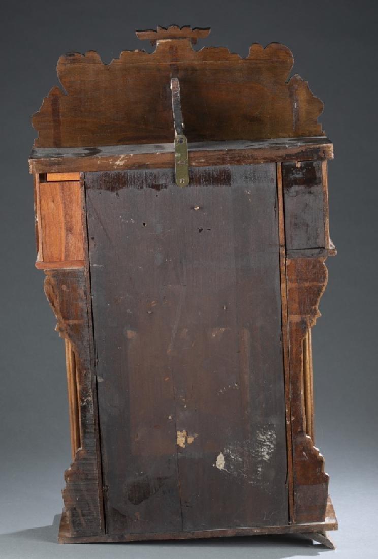 Wooden mantle clock. - 5