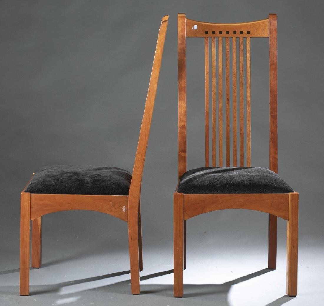 6 Stickley Cherry Dining Chairs   Frank Lloyd Wright