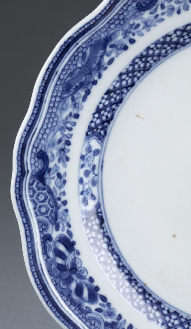 Chinese export armorial plate. - 3
