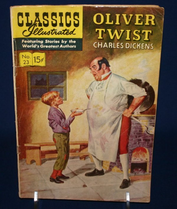 2002: 4 Classics Illustrated comic books.