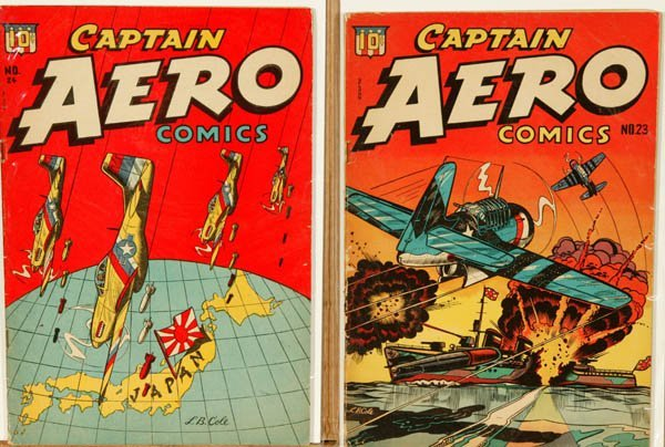 2007: Captain Aero Comics.  5 issues, 1944