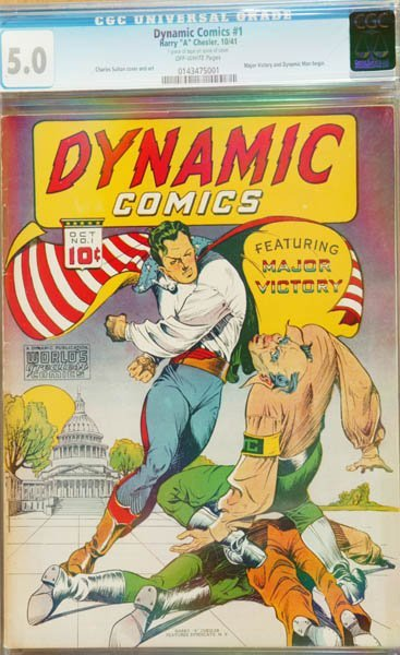 2010: Dynamic Comics #1 (Harry A. Chesler) O