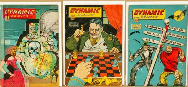 2012: Dynamic Comics, Harry A. Chesler Publi