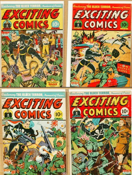 2014: 4 Exciting Comics titles (Nedor Public