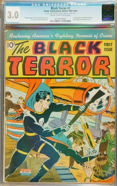 2015: The Black Terror #1 (Nedor Publication