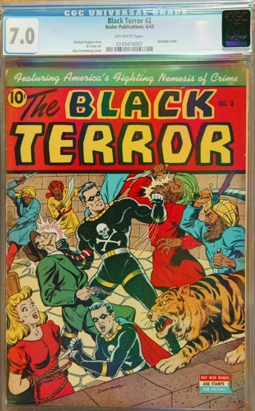2016: The Black Terror #2 (Nedor Publication