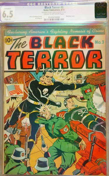 2017: The Black Terror #3, Nedor publication
