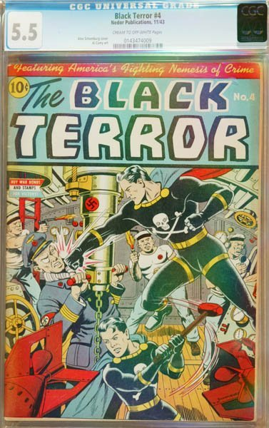 2018: The Black Terror #4 (Nedor Publication