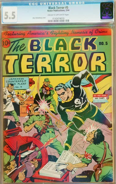 2019: The Black Terror #5 (Nedor Publication
