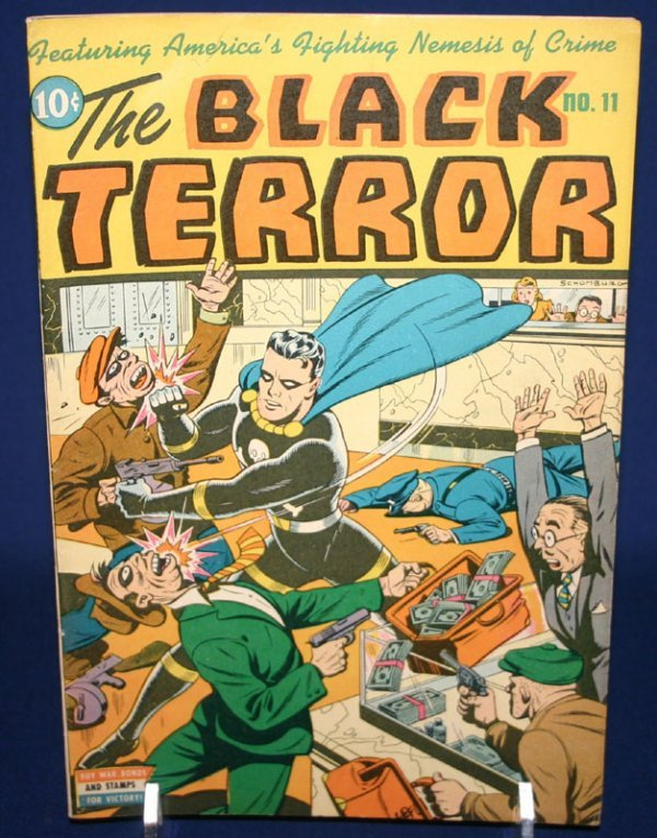 2021: The Black Terror (Nedor Publications)