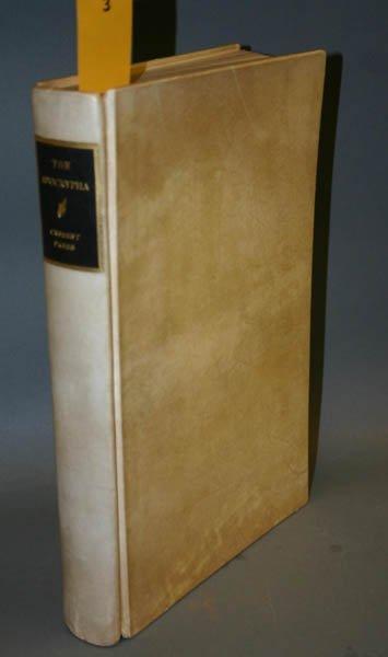 1003: Cresset Press's The Apocrypha. One of 450.