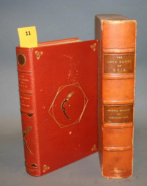 1011: Love Books Of Ovid, illustrated by King