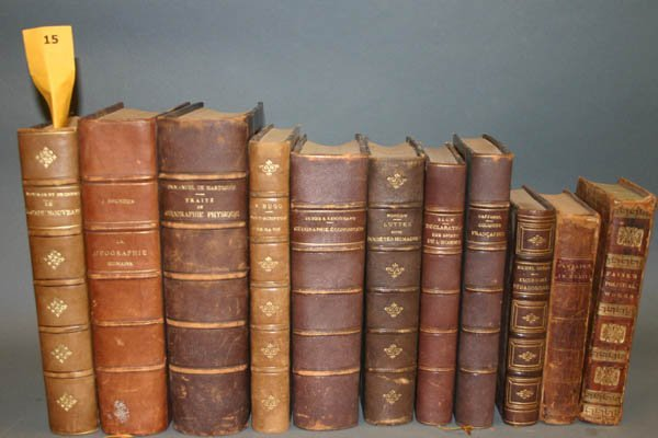 1015: Books in leather