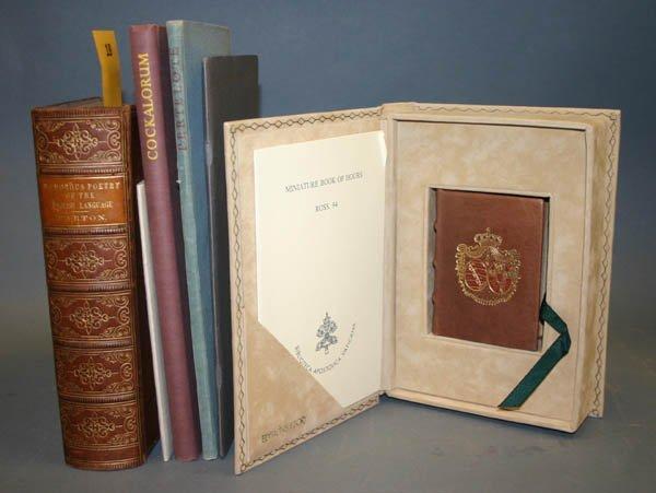 1018: 6 books including Golden Cockerel Press