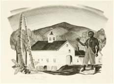 121 Prentiss Taylor New Hampshire Barn