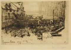 Sir Francis Seymour Haden. Dusty Millers. 1877.