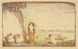 Ludwig von Hofmann. Sonnige Tage. 1897.
