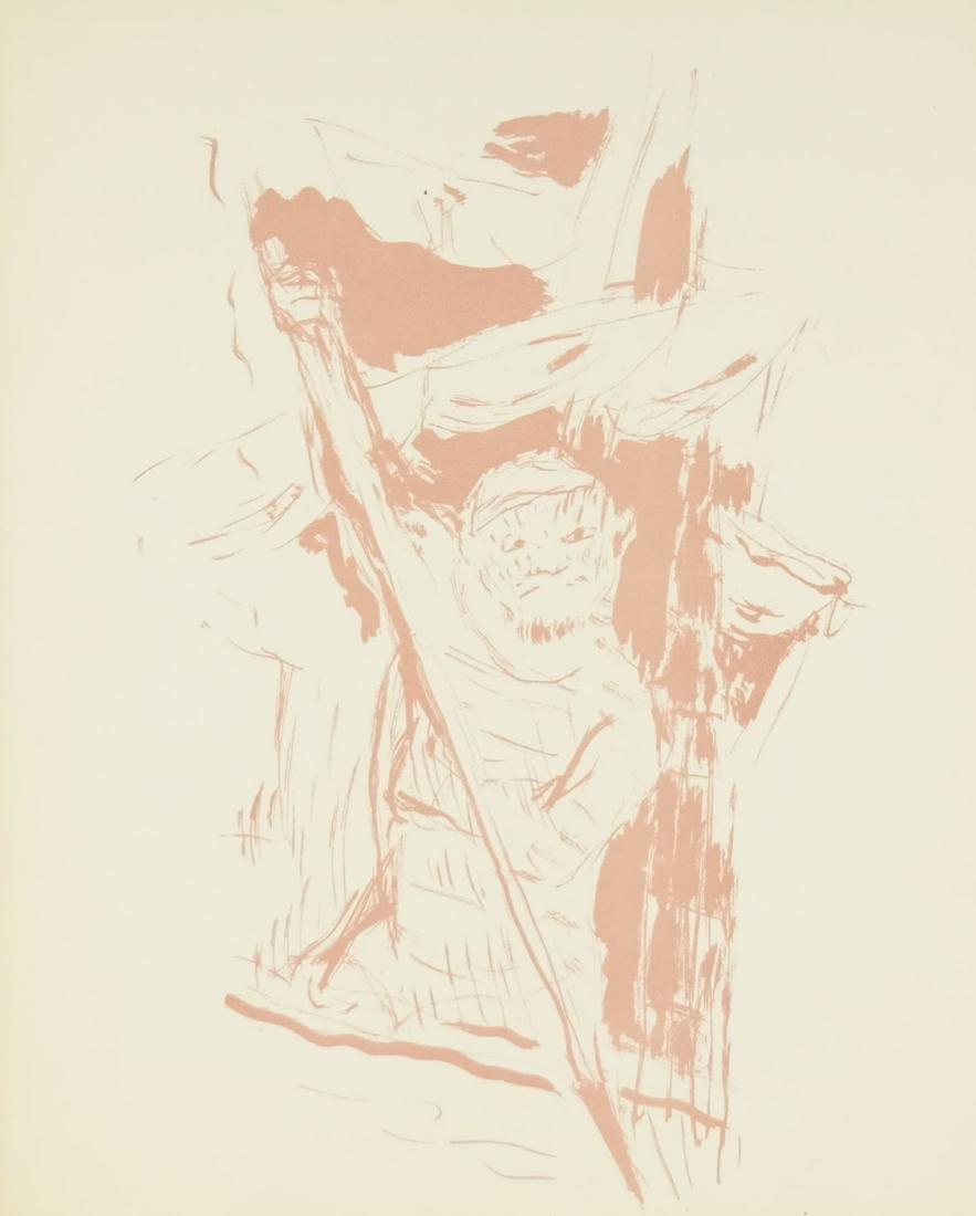 Pierre Bonnard. Pair of transfer lithographs. - 3
