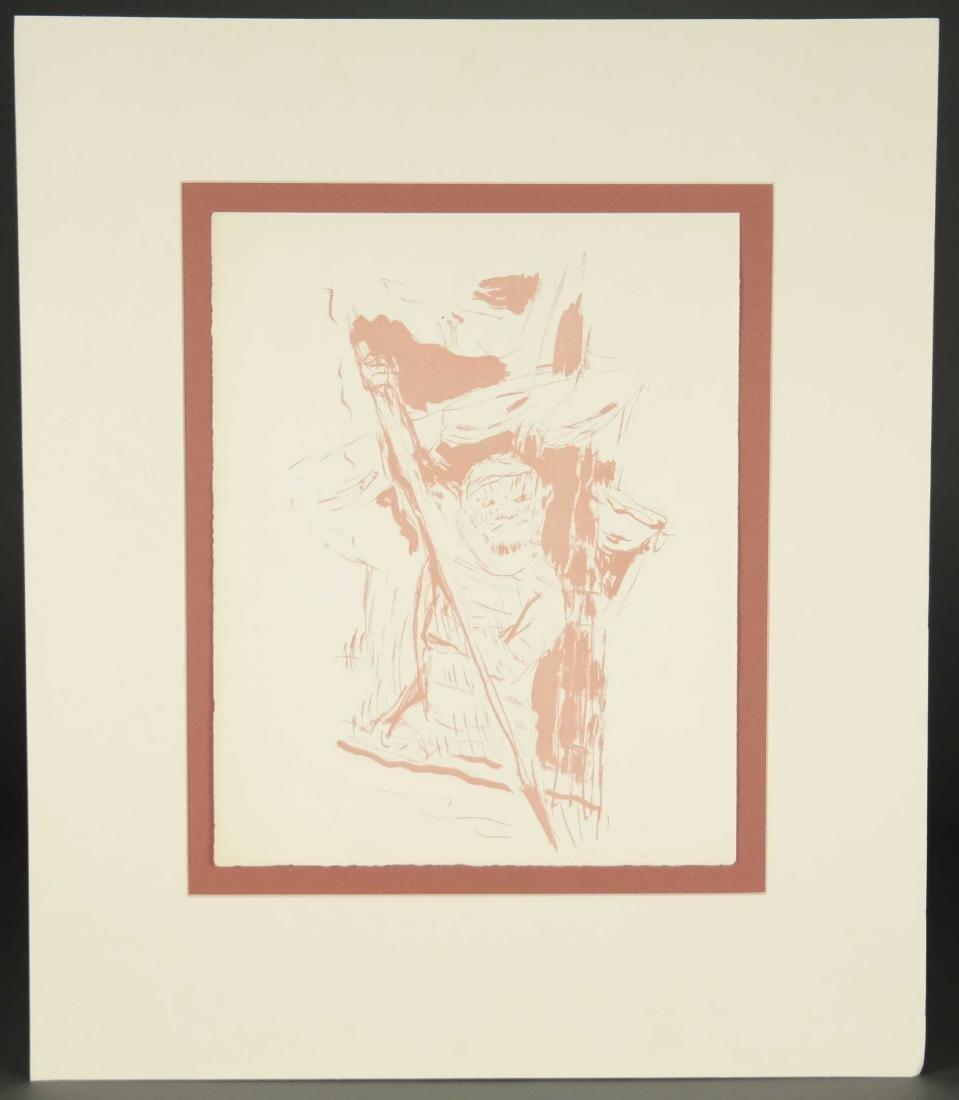 Pierre Bonnard. Pair of transfer lithographs. - 4