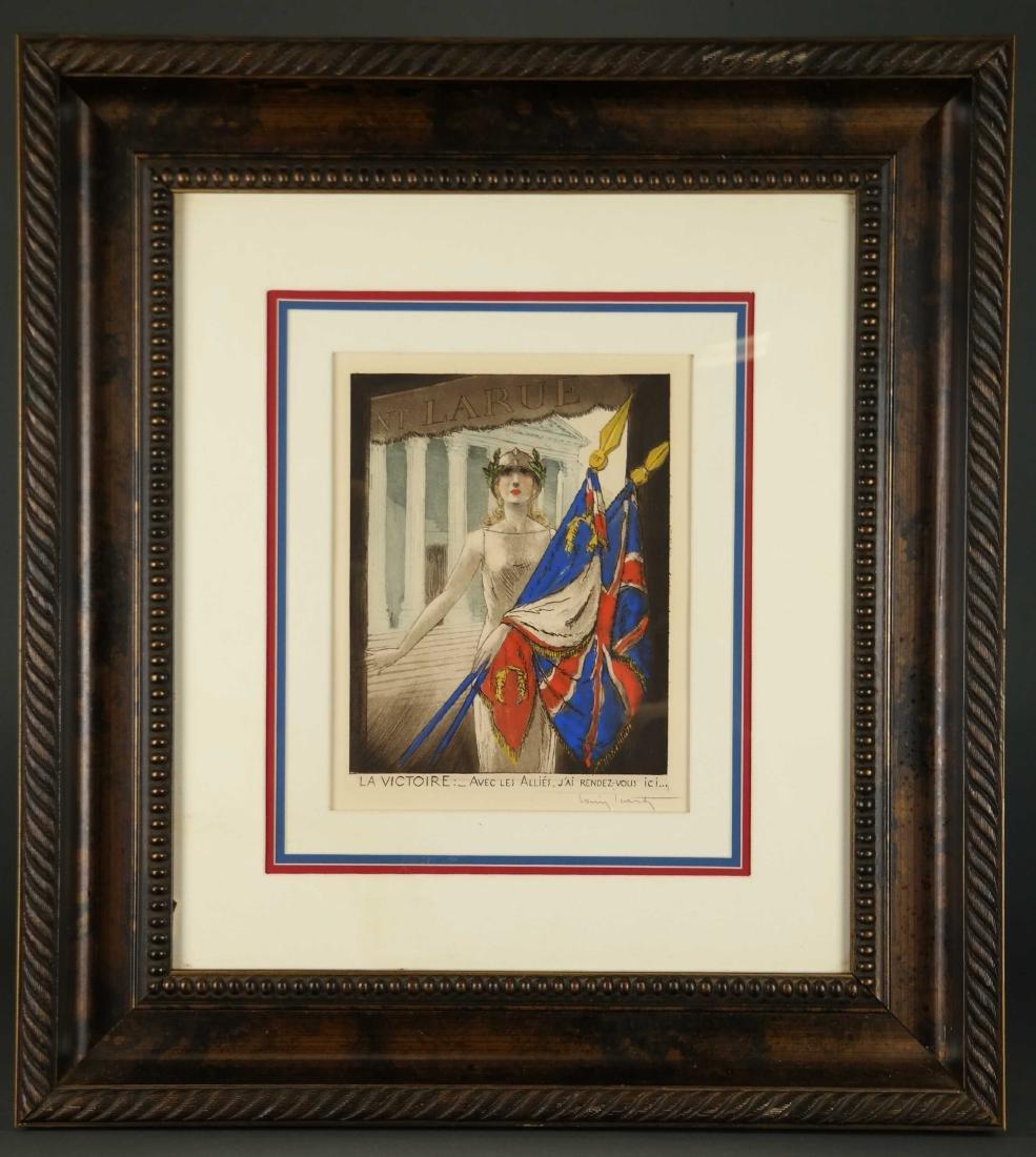 Louis Icart. La Victoire. 1945. - 2