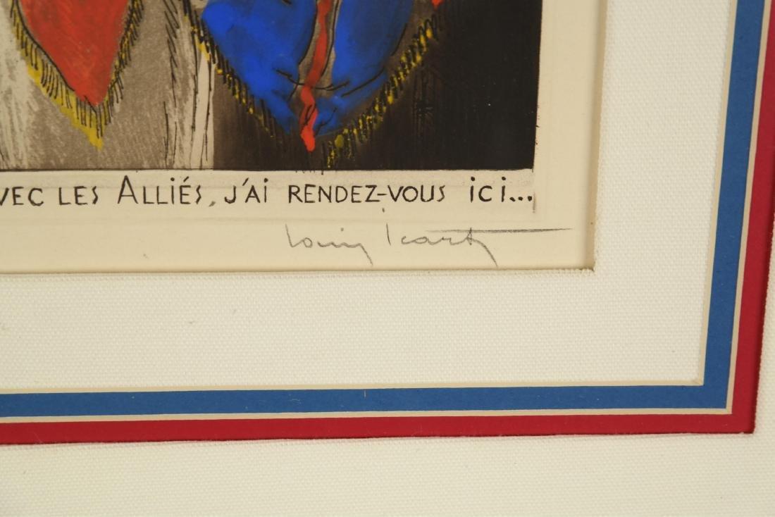 Louis Icart. La Victoire. 1945. - 3