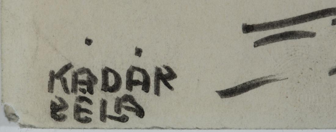 Béla Kádár. Untitled. Ink drawing. - 2