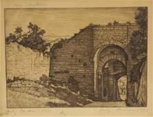 Group of 5 Luigi Lucioni Framed Prints  Ephemera