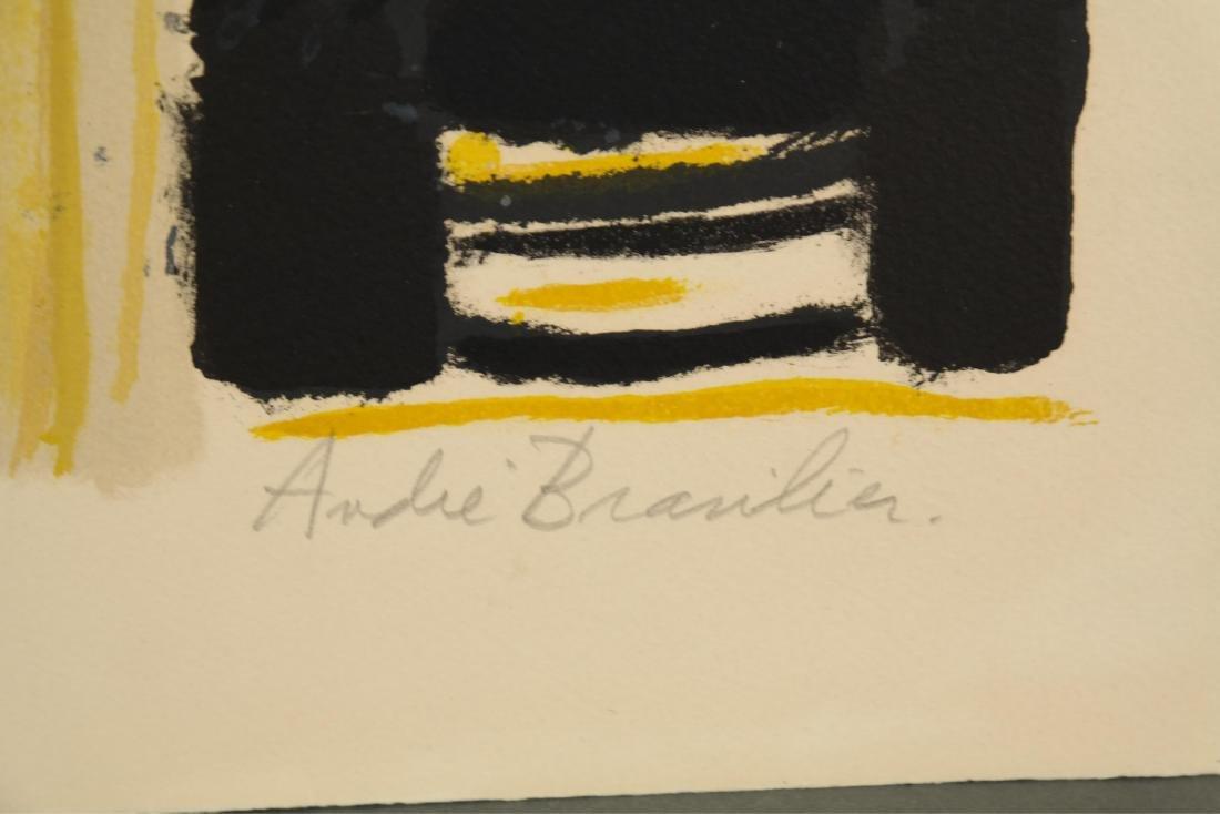 Andre Brasilier. Quai Conti. 1972. - 3