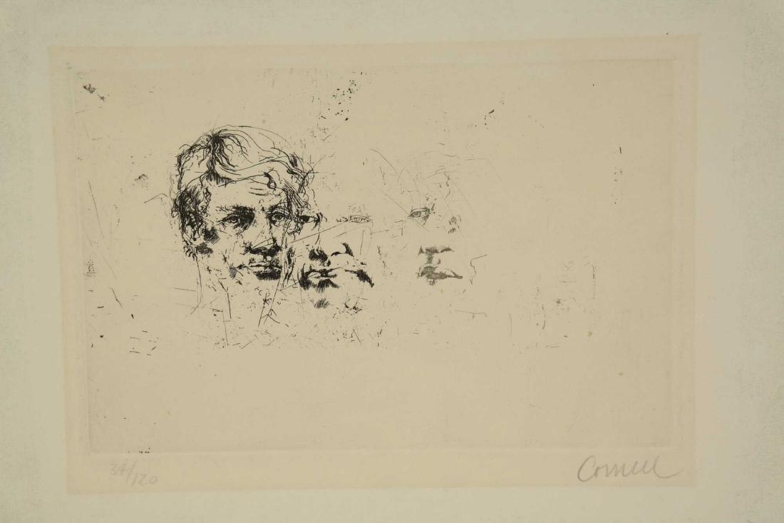 Thomas Cornell. Three Faces.