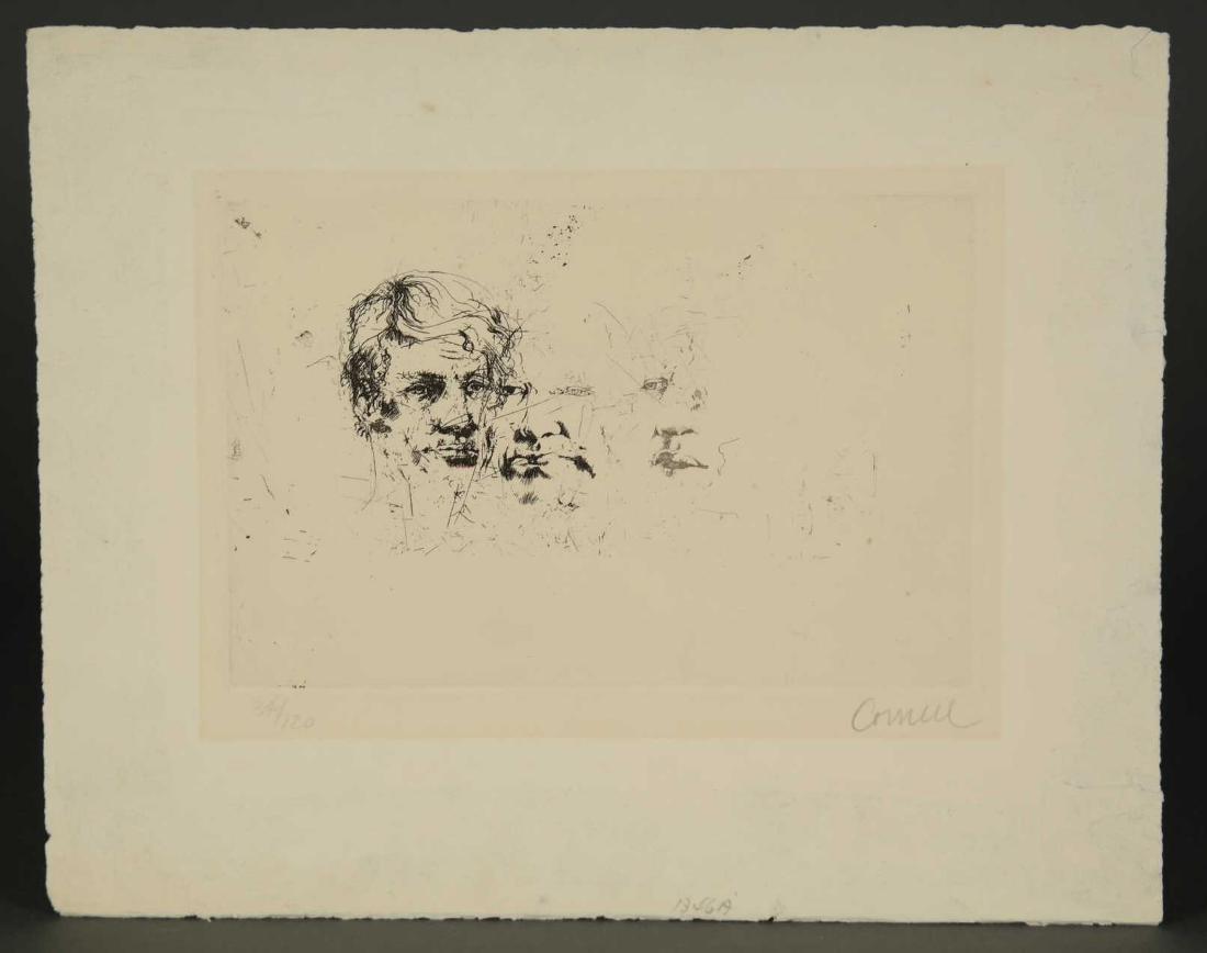 Thomas Cornell. Three Faces. - 2