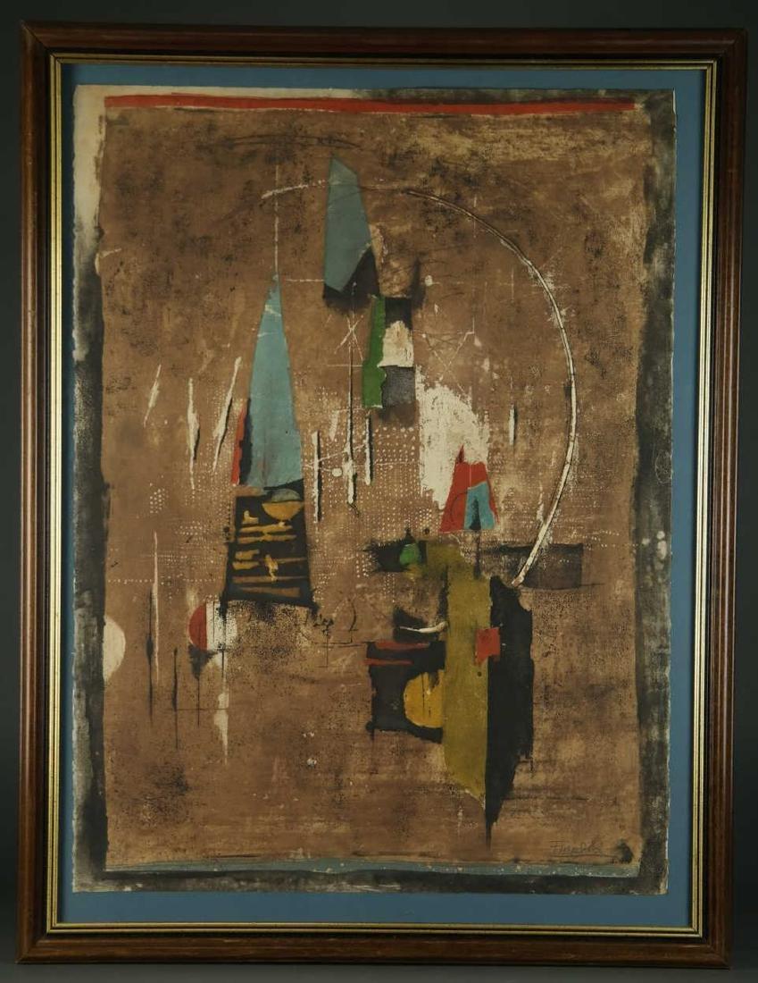 Johnny Friedlaender. Formes et Lumière. 1965. - 2