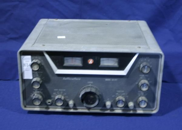 814: Hallicrafters SX-117 HF receiver, 1950.