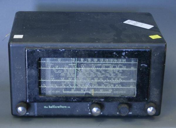 815: Hallicrafters Multiband metal shortwave radio