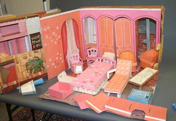 864 Vintage New Barbie Dreamhouse 1964