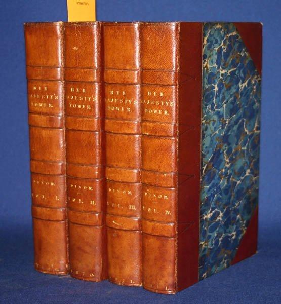 2013: Dixon, HER MAJESTY'S TOWER, 4 Vols, 1869-1871.