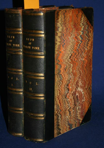 2017: LIFE OF THEOBALD WOLFE TONE, 2 Vols, 1826.